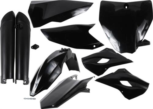 2393460001 MC Husqvarna BLACK ACERBIS PLASTIC KIT