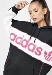 Details zu ADIDAS ORIGINALS Damen Long Hoody Kapuzen Pullover Sweater NEU FH7564 SALE