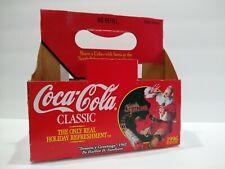 COCA COLA COKE SANTA CLAUS 11 x 17  WHEREVER I GO