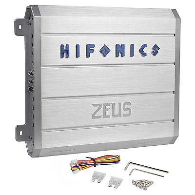 New Hifonics Zeus ZRX616.4 600 Watt RMS 4 Channel Car Audio Amplifier Amp