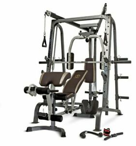 Marcy MD-9010G Diamond Elite Smith Machine/Cage System Home Gym