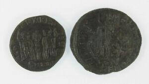 Roman-Empire-2-coin-Set-Constans-1-2-Centenionalis-Constantinus-II-AE3