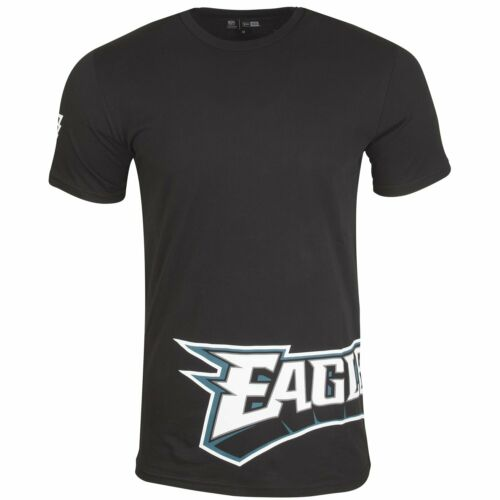 New Era NFL Shirt WRAP Philadelphia Eagles schwarz