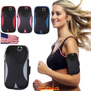 Sports Arm Band Mobile Phone Holder Bag Running Gym Armband Exercise
