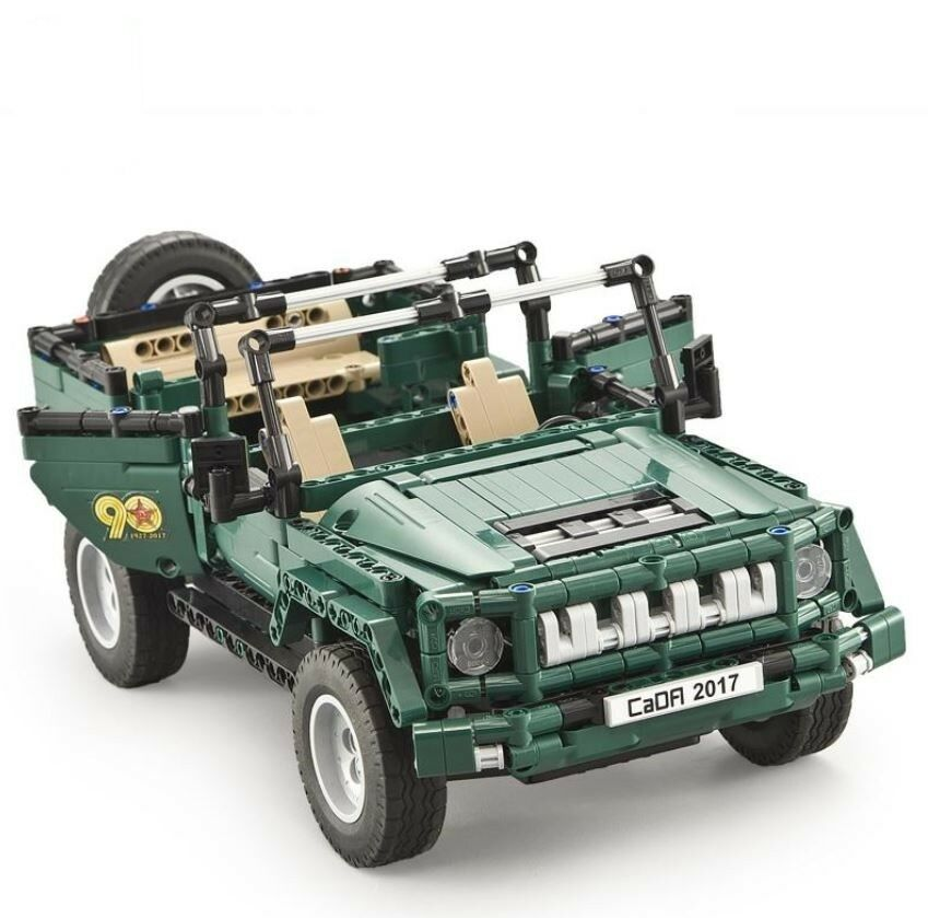 New 561pcs Military Army Weapon Jeep Truck Car Building Blocks Bricks Model Toy