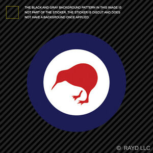 4 Quot Royal New Zealand Air Force Roundel Sticker Decal Rnzaf
