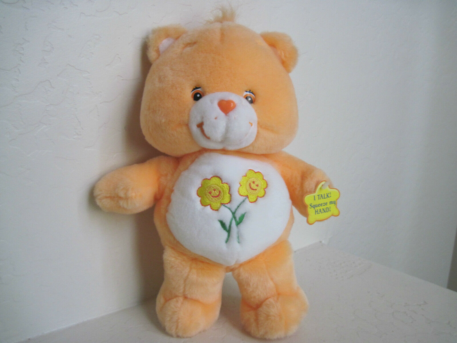 13 13 13  Care Bears  FRIEND BEAR TALKING Plush Stuffed Animal 1763f0