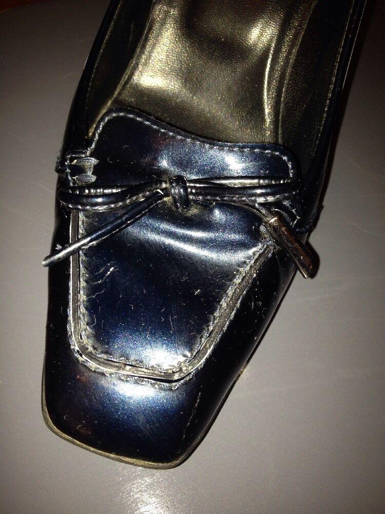 Tod's Patent navy Patent Tod's Leder Schuhes, EU 36, UK 3 42d994