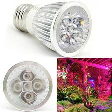 Aluminum E27 265V 5W Red Blue 5 LED Plant Grow Light Bulb Garden Hydroponic Lamp
