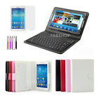 WIRELESS BLUETOOTH KEYBOARD CASE STAND FOR SAMSUNG GALAXY TAB 3/4/PRO/S/S2/A/E