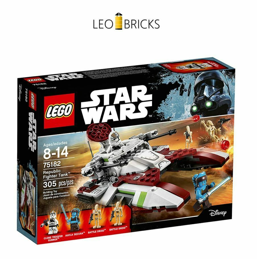 LEGO® Star Wars 75182 Republic Fighter Tank Clone Wars NEU & OVP