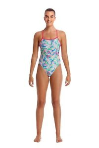 Details about Funkita Palm Springs Twisted One Piece Swimsuit. Funkita Swimwear.Funkita