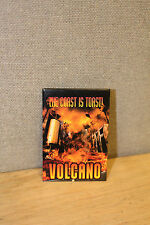 VINTAGE PROMO PINBACK BUTTON #89-027 - MOVIE - VOLCANO - THE COAST IS TOAST