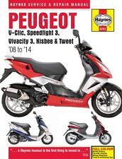 Peugeot V-Clic Speedfight 3 Vivacity 3 Kisbee Tweet 08-14 Haynes Handbuch 5751