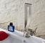 Unique-Chrome-Nickel-Black-Brass-Waterfall-Bathroom-Basin-Mixer-Faucet-Taps thumbnail 3