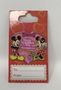 DLR-Happy-Valentine-039-s-Day-2007-Mickey-amp-Minnie-Mouse-PIN-52213-Disneyland