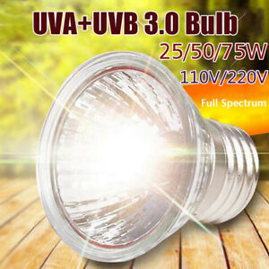 New-Plant-Sun-110V-22V-Brooder-Pet-Heating-Lamp-E27-UVA-UVB-Reptile-Heat-Light