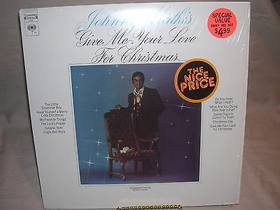 Johnny Mathis Give Me Your Love For Christmas 9023 Columbia Records VG/VG | eBay