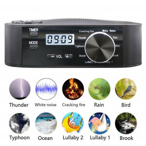 Sound-Spa-Relax-Machine-White-Noise-Baby-Nature-Peace-Therapy-Easy-Sleep-Night