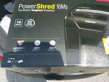 Fellowes Heavy Duty Powershred 16ms Shredder