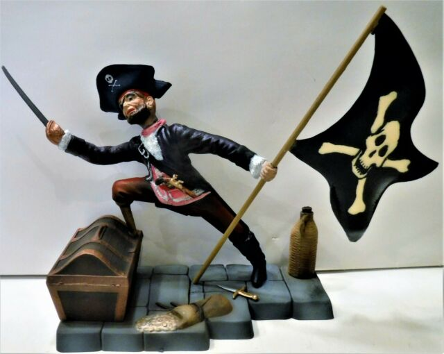 MPC Disneys HOIST High THE Jolly Roger ORIGINAL Professionally AIRBRUSHED AURORA