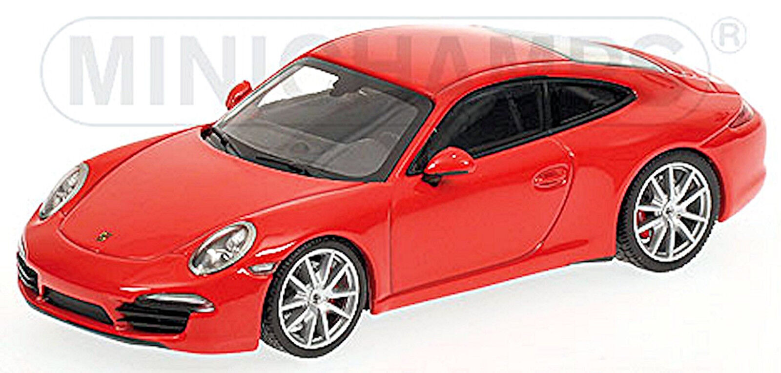 PORSCHE 911 Carrera S Tipo  991 COUPE 2012 terra indiana rojo 1 43 Minichamps