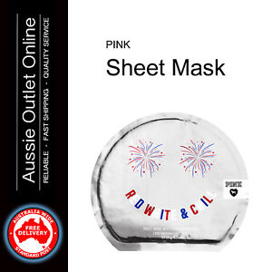 63683319837aa Details about Victoria's Secret PINK Red White & Chill Face Mask - Aussie  Outlet Online NSW