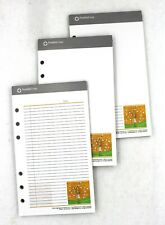 Lot Of 3 Franklin Covey Pad Lined Compact Notepad Date 7 14 L X 4 14