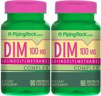 Dim Complex Diindolylmethane 175mg Broccoli & Kale Dietary Supplement 180 Caps
