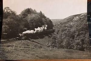 Authentic-press-office-Photo-LNER-Train-Whitby-Pickering-Line-railway-railwayana