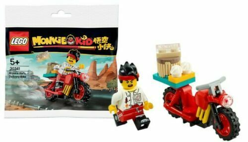 LEGO 30341 Monkie Kid's Delivery Bike Polybag Lego Shop Exclusive 5+ Years NEW