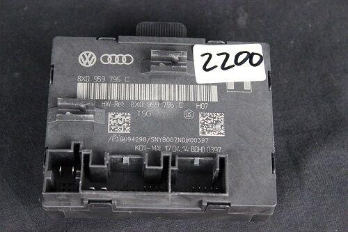 Audi Q3 8U A1 8X Türsteuergerät Steuergerät Tür Türe Door Unit 8X0959795C