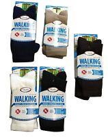 7 Pair Of Women's Thorlo Wx11 Walking Socks Black Usa Casual 9-11 Medium