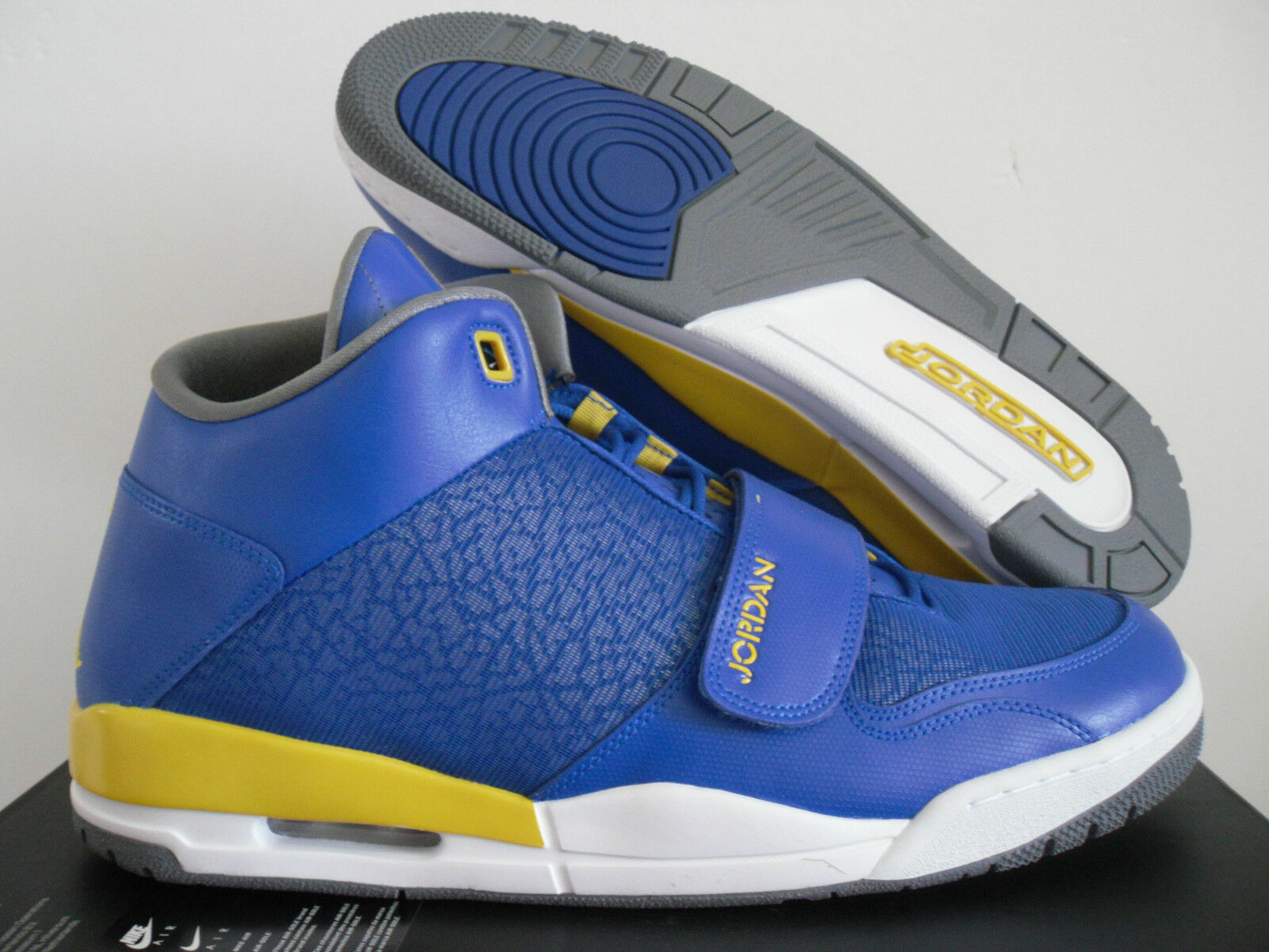 NIKE AIR JORDAN FLTCLB FLIGHTCLUB 90'S GAME ROYAL-MAIZE LANEY!! [602661-489]