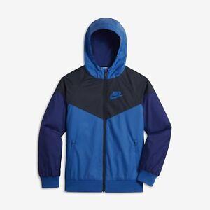 a6724cc348 Image is loading Nike-Sportswear-Windrunner-Full-Zip-Big-Boys-Jacket-
