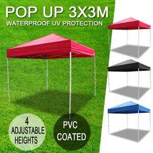 Outdoor-Gazebo-3x3m-3x4-5m-Folding-Pop-Up-Marquee-Shade-Tent-Canopy-AU-SHIP