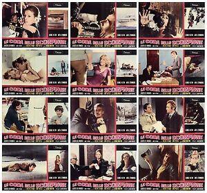 LA-CODA-DELLO-SCORPIONE-SET-FOTOBUSTA-12-PZ-STRINDBERG-THRILLER-1971-LOBBY-CARD