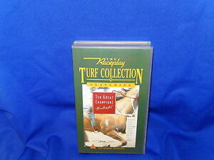 THE-RACEPLAY-TURF-COLLECTION-10-GREAT-CHAMPIONS-THE-60-s-AND-70-s-VHS-TAPE