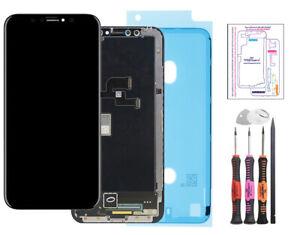 Ecran-pour-iPhone-X-Noir-Vitre-Tactile-LCD-Retina-Display-Haute-Qualite-Outils