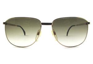 c4297374f4 Dettagli su occhiale da sole Silhouette uomo M 7070 colore oro/blu/V 6621