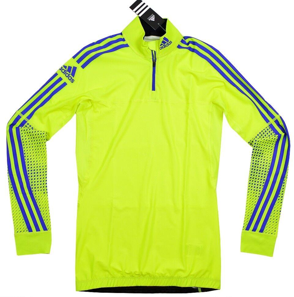 Adidas XC Top w lumière femmes Skiing Top FonctionneHommest Shirt DSV X-Country Skin Neon