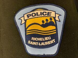 Quebec-Police-Patch-Richelieu-Saint-Laurent-Quebec-Canada
