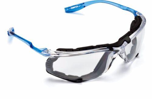 3M Virtua CCS Safety Glasses 11872-00000-20 Foam Gasket Clear Anti Fog Lens