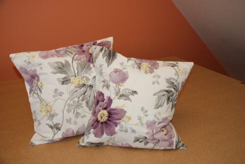 Deux laura ashley handmade housses de coussin en pivoine jardin améthyste