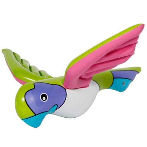Aufblasbarer Papagei pastell Sommer circa 60cm