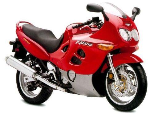Suzuki GSX600F Katana 1998 Stainless steel screen motorcycle fairing bolts kit