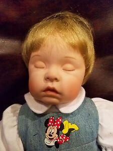 "16"" Bent Porcelain Doll From Disney"