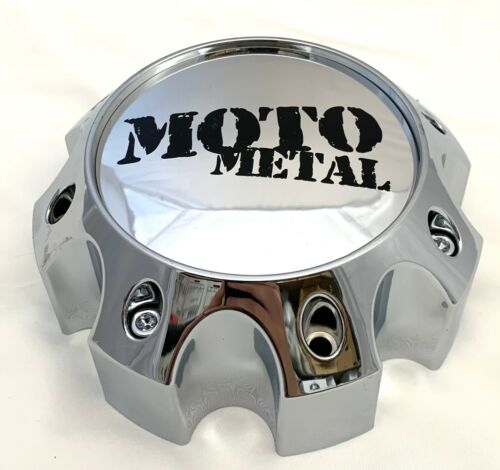 # 1079L170-H67-C2 1079L170 Moto Metal CHROME Wheel Center Cap SET OF 1
