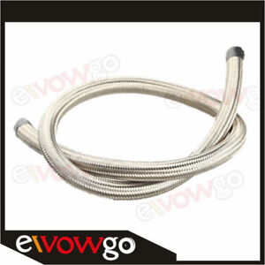 1500-PSI-4AN-AN4-Stainless-Steel-Double-braided-Oil-Fuel-Gas-Line-Hose