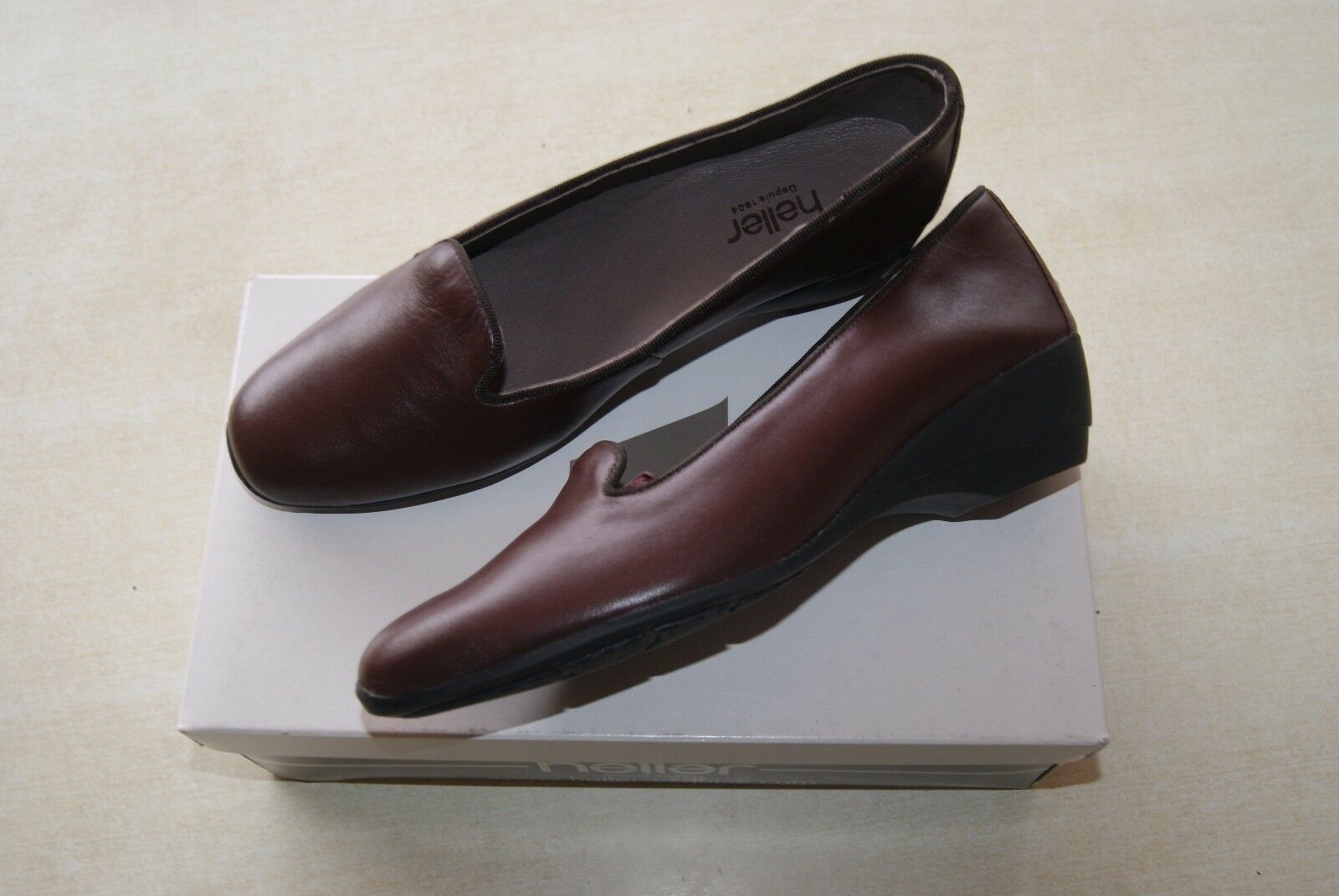 Chaussons/chaussures MARRON taille HELLER  neuves taille MARRON 38 (base  ) 4e77dd